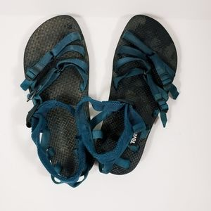 Teva Alp The Sport Strappy Sandals Blue Wmns 12